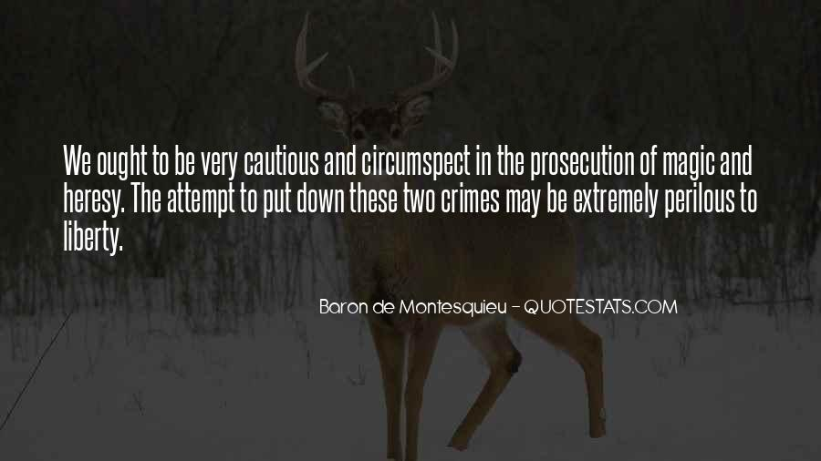 Quotes About Prosecution #38101