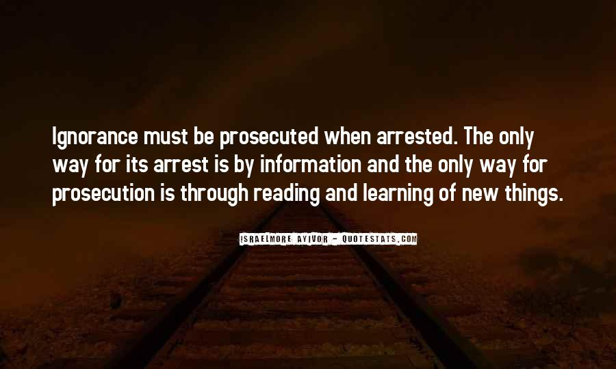 Quotes About Prosecution #537245