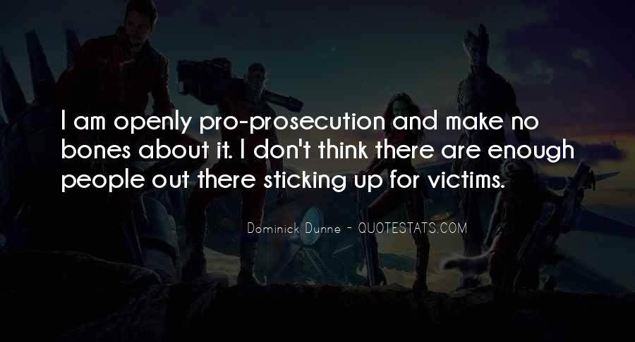 Quotes About Prosecution #554683