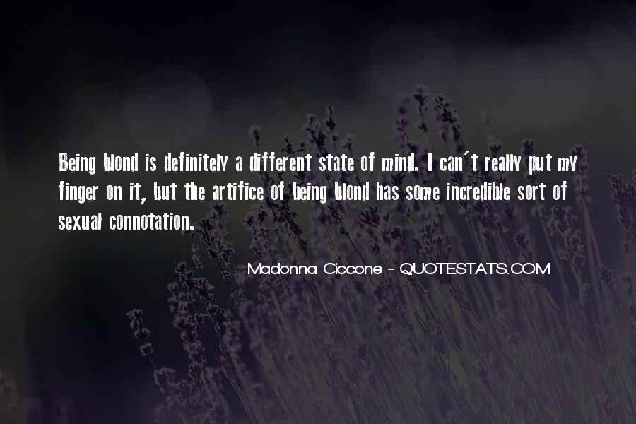 Quotes About Mind State #127400