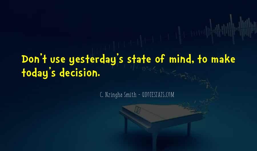 Quotes About Mind State #29567