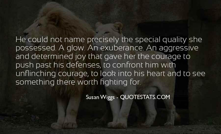 Quotes About Aggressive Love #1850057