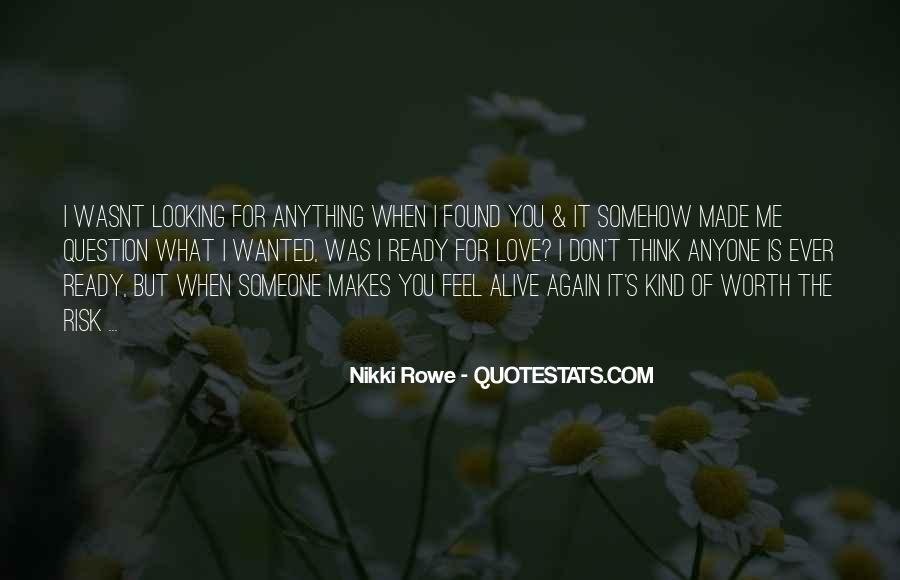 Quotes About Not Ready To Love Again #1736004