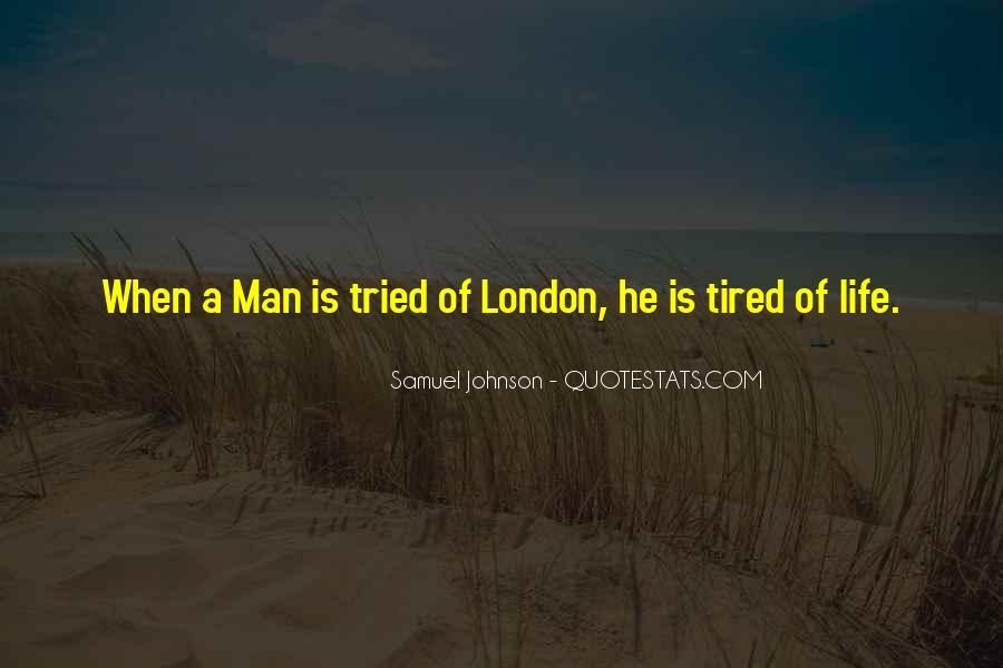 Quotes About London Samuel Johnson #1094111