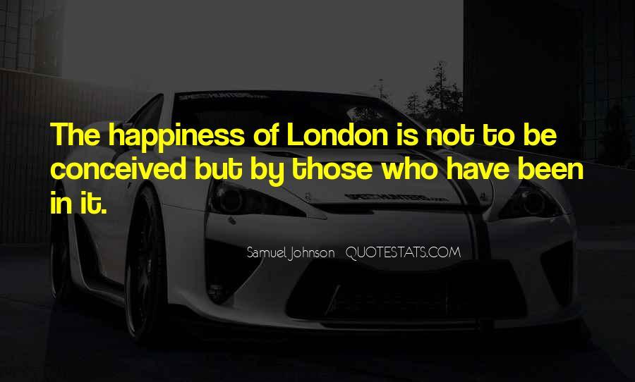 Quotes About London Samuel Johnson #783917