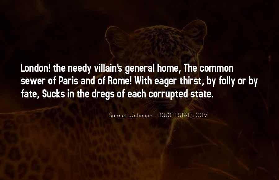 Quotes About London Samuel Johnson #995416
