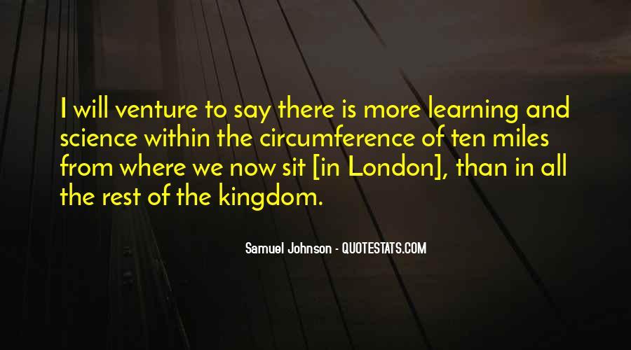 Quotes About London Samuel Johnson #997269