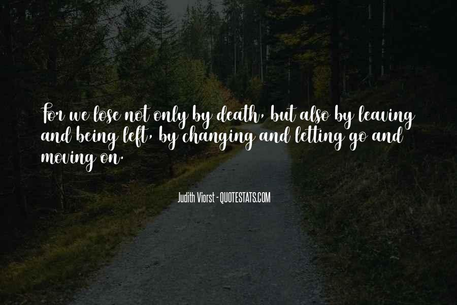 Quotes About Moving Past Death #116906