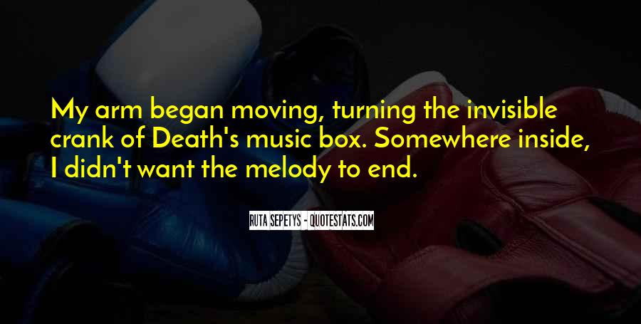 Quotes About Moving Past Death #256161