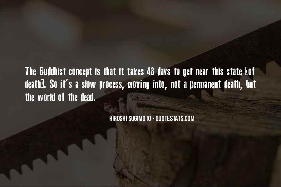 Quotes About Moving Past Death #508244