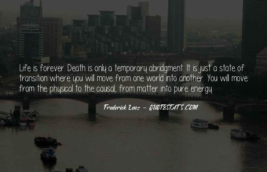 Quotes About Moving Past Death #585722