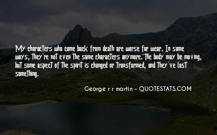Quotes About Moving Past Death #654546