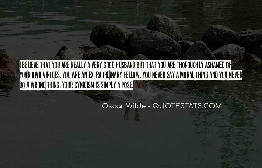 Quotes About Cynicism Oscar Wilde #1425598