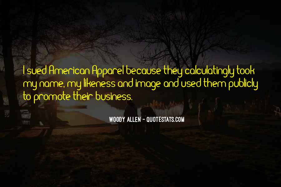 Quotes About American Apparel #1009462