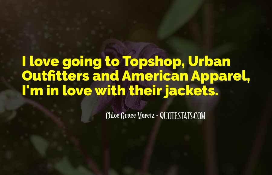 Quotes About American Apparel #1534460