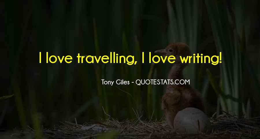 Quotes About Travelling And Love #1178549