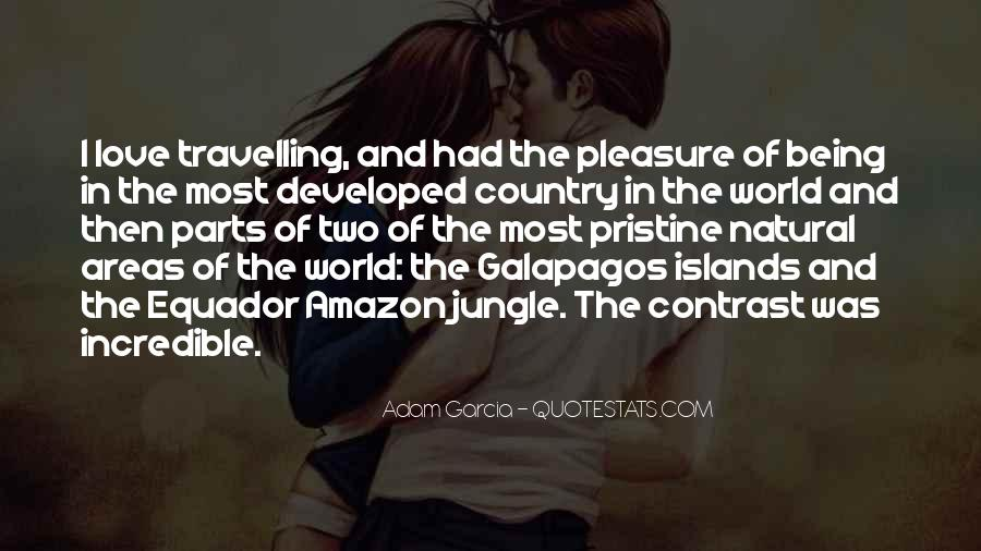 Quotes About Travelling And Love #1337582