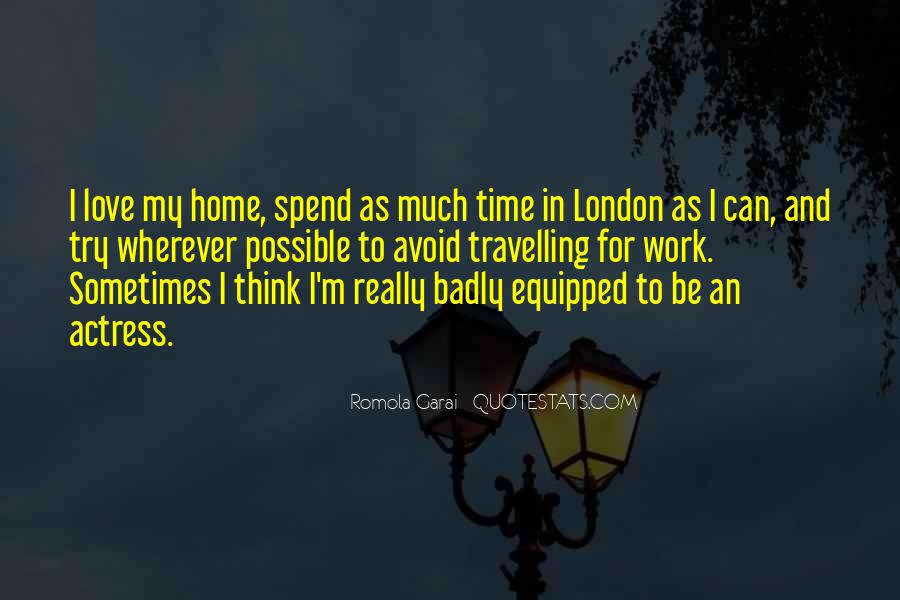 Quotes About Travelling And Love #133933