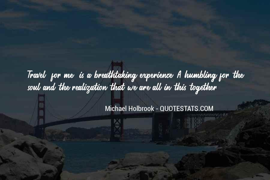 Quotes About Travelling And Love #1570490