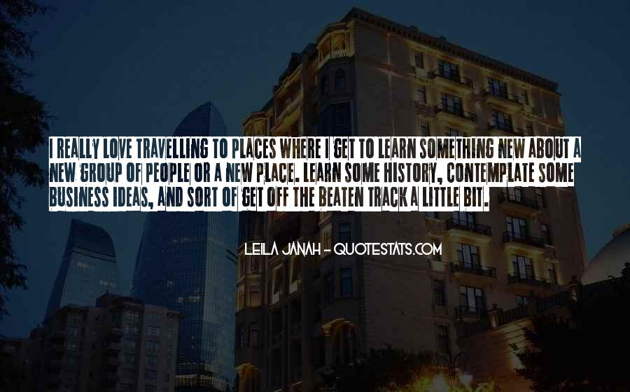 Quotes About Travelling And Love #173236