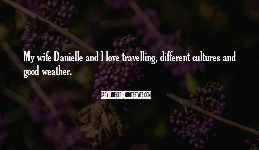 Quotes About Travelling And Love #722276