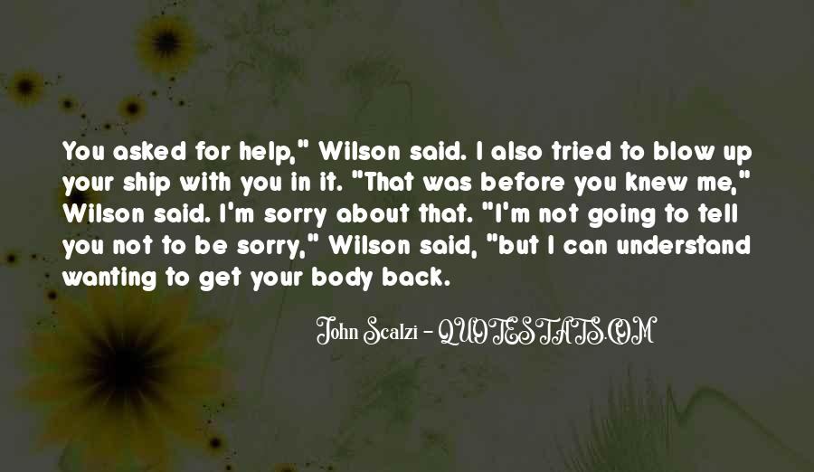 Quotes About Wanting You Back #952728