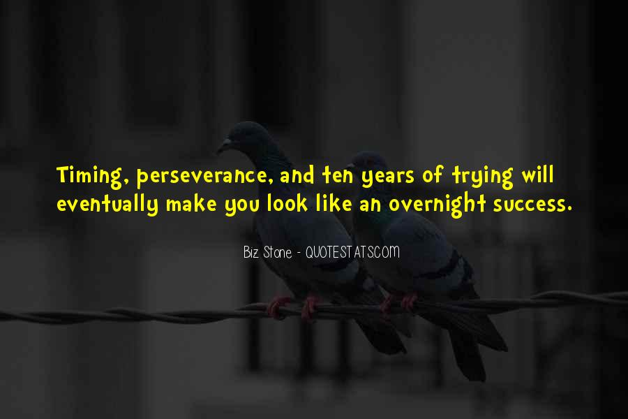 Quotes About Timing In Business #160836