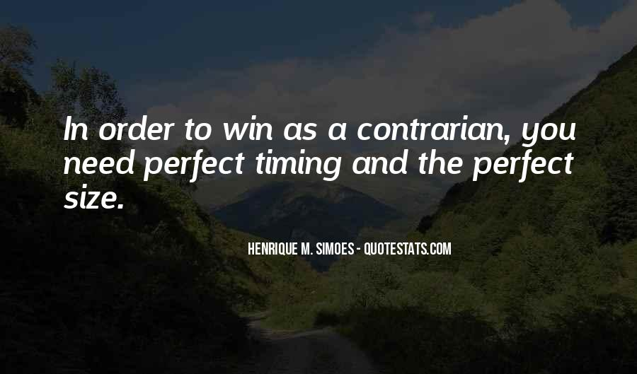 Quotes About Timing In Business #1859653