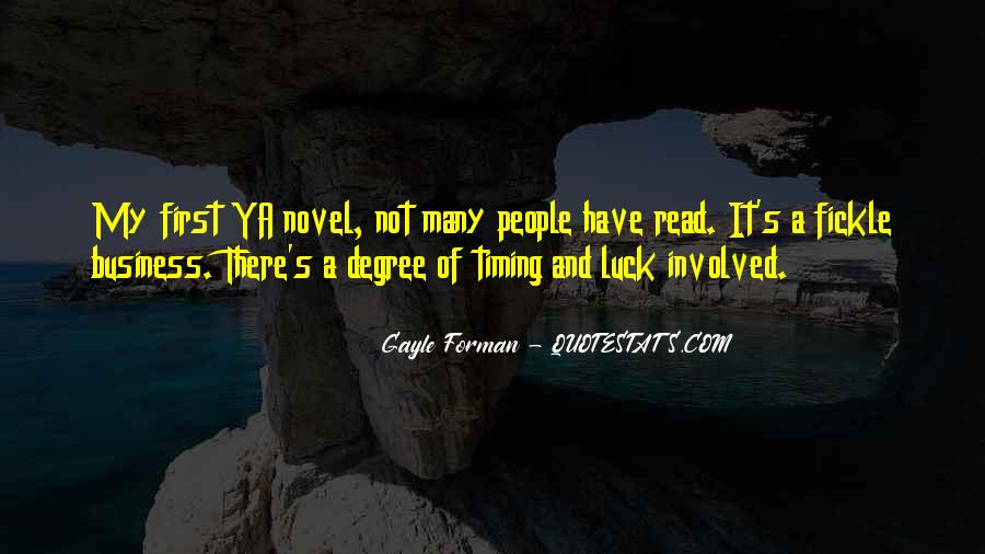 Quotes About Timing In Business #788594