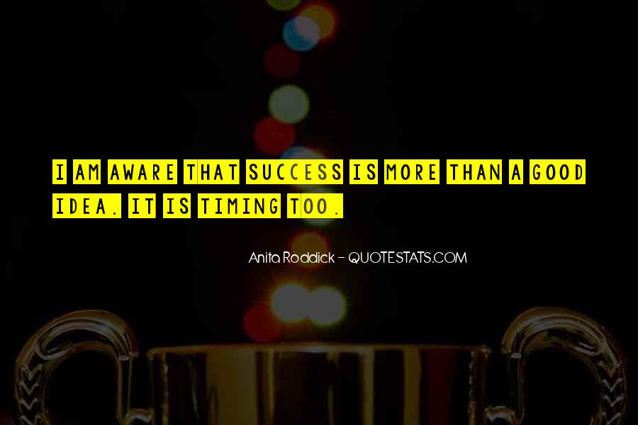 Quotes About Timing In Business #898744