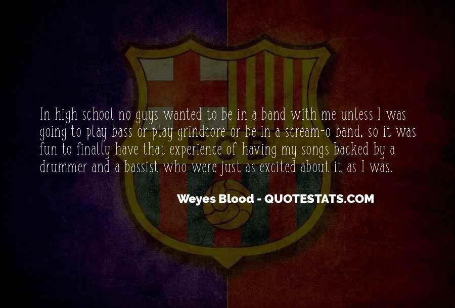 Quotes About High School Experience #1202368