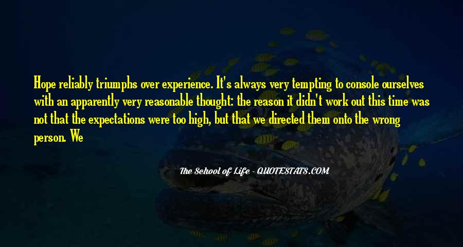 Quotes About High School Experience #458509