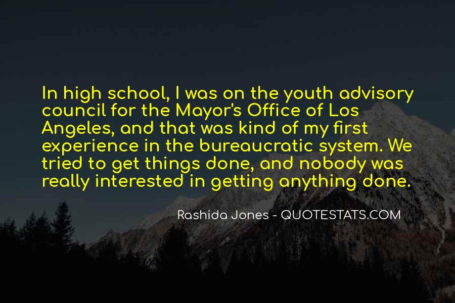 Quotes About High School Experience #651191