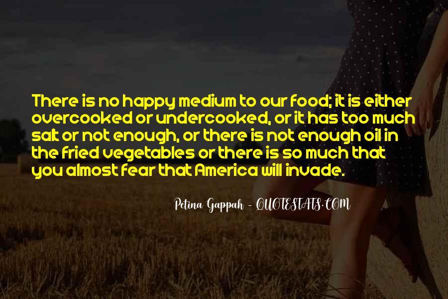 Quotes About Happy Medium #980704
