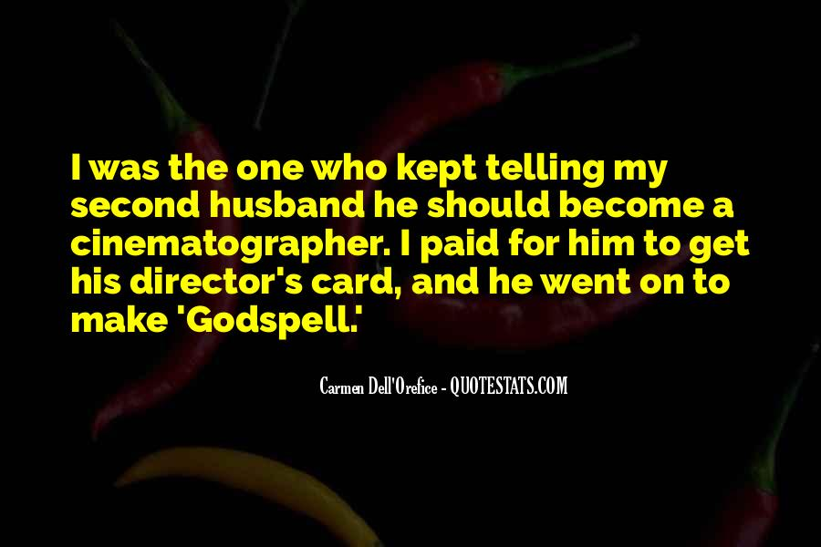 Quotes About Godspell #1437346