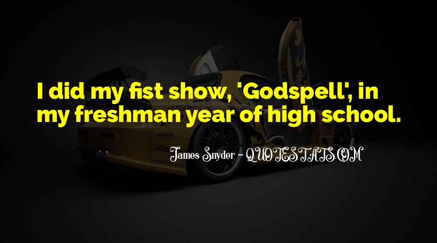 Quotes About Godspell #241120
