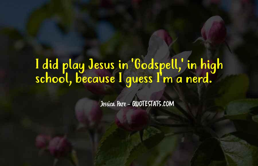 Quotes About Godspell #649718