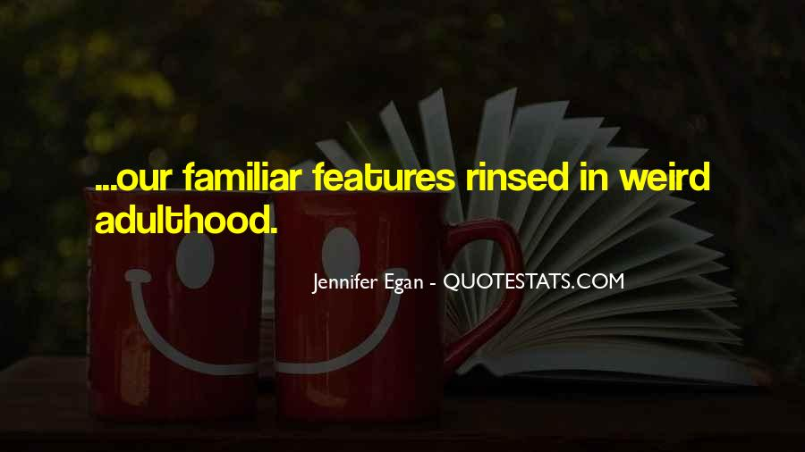 Quotes About Features #113638