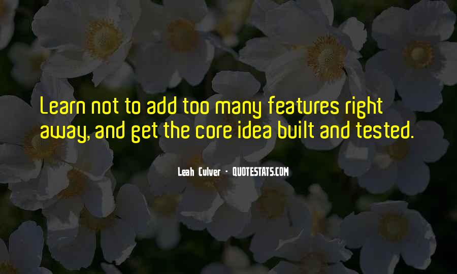 Quotes About Features #142714