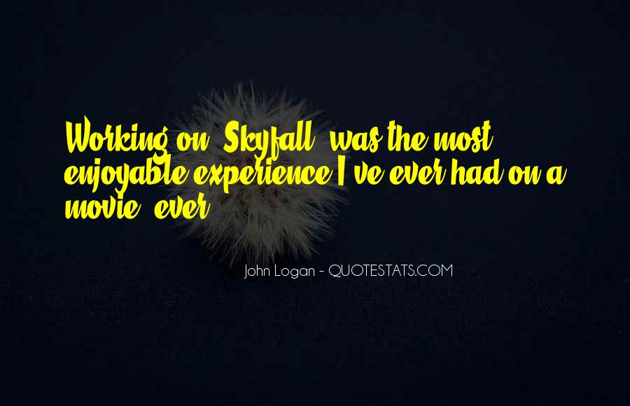 Quotes About Skyfall #191108