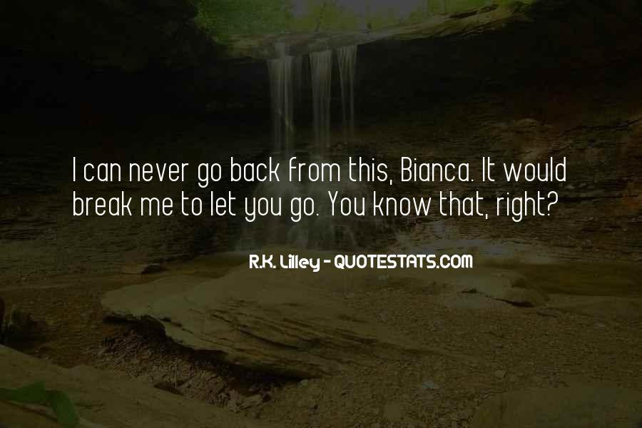 Quotes About Never Let Me Go #14766