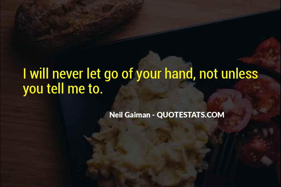 Quotes About Never Let Me Go #595175