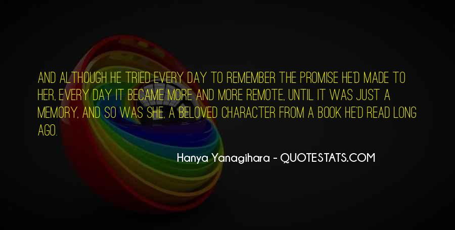 Quotes About Memory In Beloved #1839370