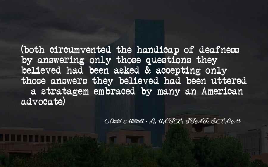 Quotes About Selective Hearing #1765655
