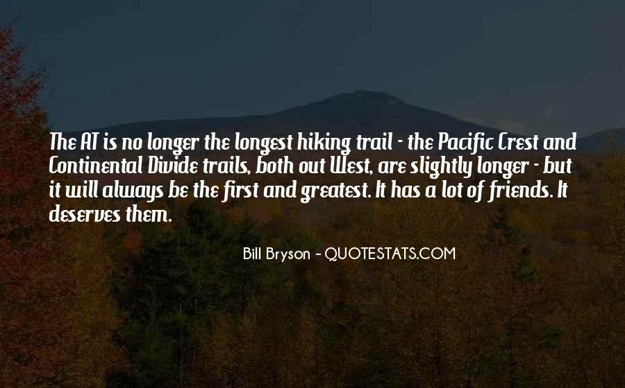 Quotes About Hiking And Friends #1295346