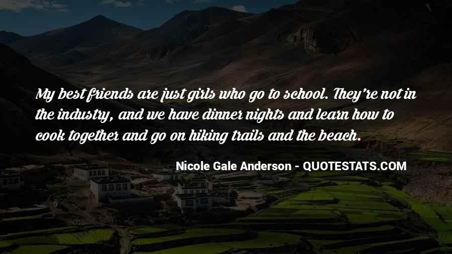 Quotes About Hiking And Friends #853812