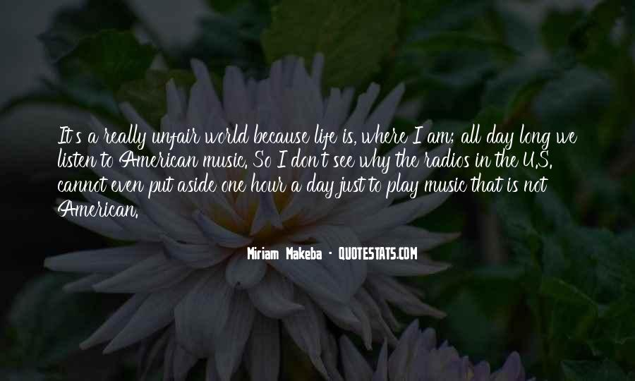 Quotes About Why Life Is So Unfair #499268