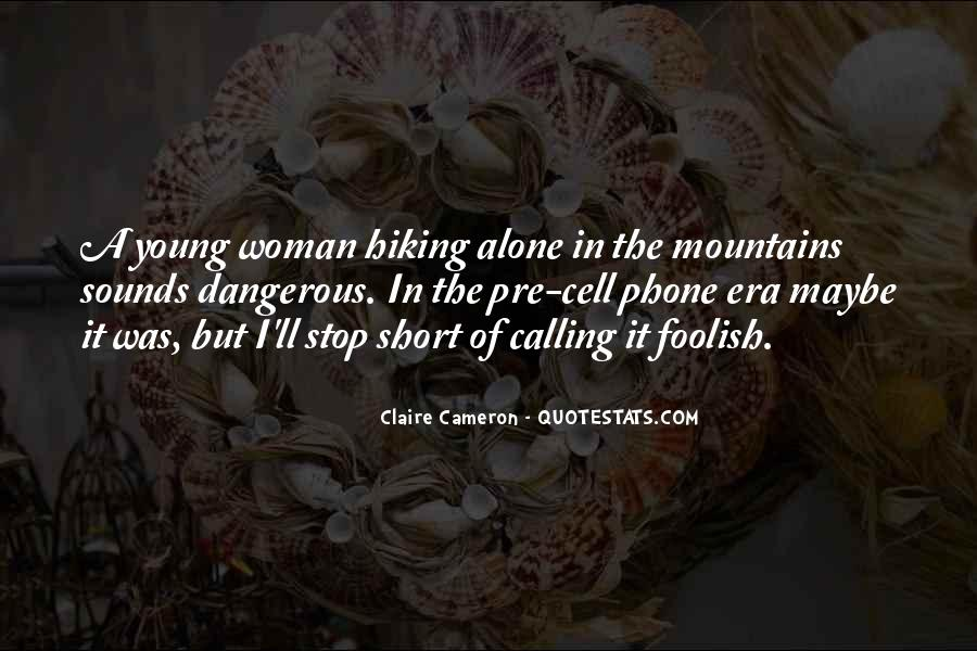 Quotes About Young Woman #114228