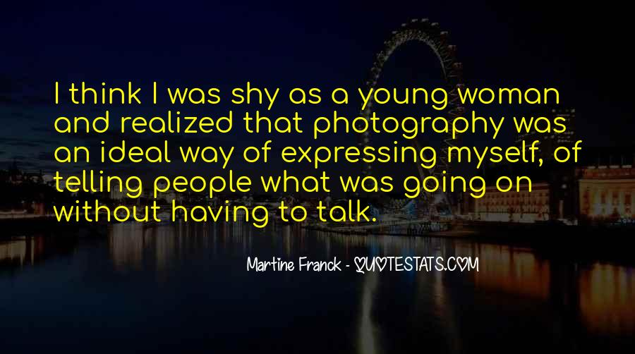 Quotes About Young Woman #119997