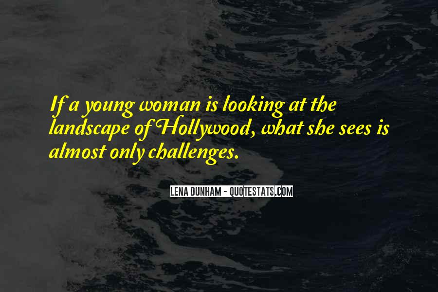 Quotes About Young Woman #19313